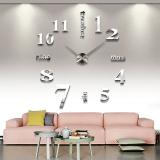 Harga Vococal Dibetulkan Modern Besar 3D Jam Wall Sticker Dekorasi Vococal Tiongkok