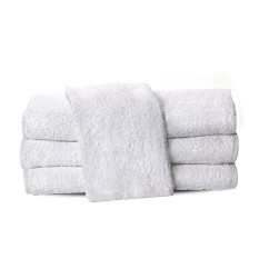 Vuvida  Handuk Sport Muka Kecil ukuran 35 x 80 cm / Handuk / Handuk polos / Handuk muka /Handuk kecil / Handuk hotel / Simple Travel Magic Towel Lap Putih