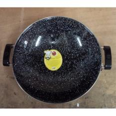 Wajan Anti Lengket Enamel Marble Royal Wok Maspion 35Cm - Zrzjqg