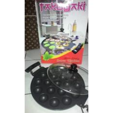 Harga Wajan Cetakan Kue 19 Lubang Takoyaki Poffertjes Cubit Snack Maker Pan Tebal Original