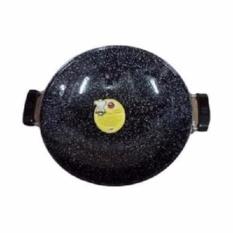 Kado Unik-- Wajan Enamel Marble Royal Wok 35 cm MASPION Anti Lengket