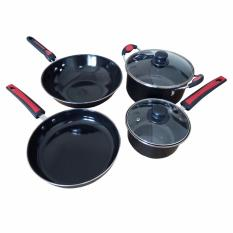 Jual Wajan Panci Cookware Set Enamel Jumbo 6 Pcs Jawa Timur Murah