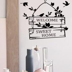 Stiker Dinding Kutipan Vinil Stiker Dinding Hiasan Rumah Kantor Seni Dinding Stiker Selamat Datang Stiker Dinding