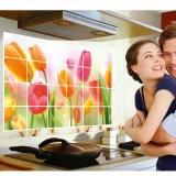 Spesifikasi Tulip Stiker Dinding Dapur Anti Minyak Stiker Pvc Stiker Dinding Dan Harga