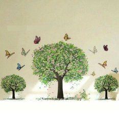 Wall sticker 3 Pohon Rindang 90 x 60cm