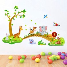 Jual Wall Sticker Dinding Abc1041 60X90 Multicolor Import