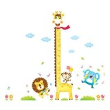 Promo Wall Sticker Xy1105 Grow Up Girrafe Lion Stiker Dinding Untuk Dekorasi Kamar Anak Wall Sticker Ukur Tinggi Badan Anak Sticker Dinding Murah Penghias Dinding Rumah Wallpaper Dinding Lucu Warna Random Murah