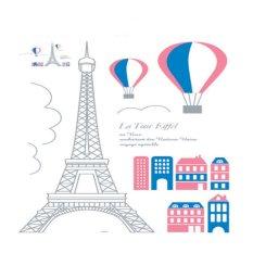 Jual Wall Sticker San Paris City Stiker Dinding Dki Jakarta Murah