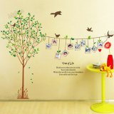 Model Wall Sticker Stiker Dinding Ay215 Multicolor Terbaru