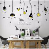 Spesifikasi Wall Sticker Stiker Dinding Xl8198 Multicolor Baru