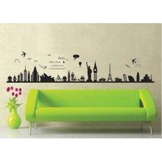Spesifikasi Wall Sticker Stiker Dinding Xy1148 Multicolor Terbaru