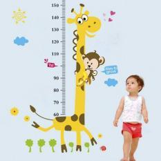 Wall Sticker Ukur Ay831 Grow Up Giraffe Stiker Dinding Untuk Dekorasi Kamar Anak Wall Sticker Ukur Tinggi Badan Anak Sticker Dinding Murah Penghias Dinding Rumah Wallpaper Dinding Lucu Warna Random Promo Beli 1 Gratis 1