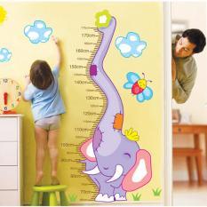 Harga Wall Stiker Pengukur Tinggi Badan Anak Xy1135 Growup Warna Random Kobucca Ori
