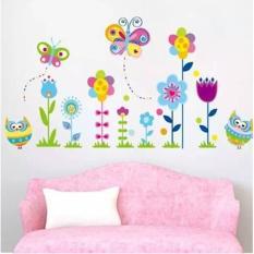 Wallsticker Uk.50X70 Wall Sticker Dinding Night Owl JM 8366IDR17500. Rp 18.000
