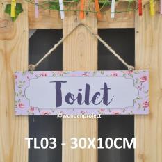 Walldecor Gantungan Dinding Toilet - TL03