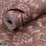 Jual Wallpaper Dinding Bahan Vinyl Ukuran 53 Cm X 10 Meter Permukaan Timbul Kode Barang Tr14808 Oem Original