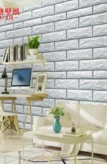 Beli Wallpaper Dinding Bata Putih Ukuran 45Cm X 10 M Banten