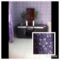 Wallpaper Dinding Batik Ungu- wallpaper Dinding Kamar Tidur- wallpaper Dinding Murah