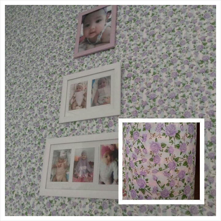 Wallpaper Dinding Rosaline Ungu- Dinding Kamar Tidur- Dinding 3D- Dinding Murah