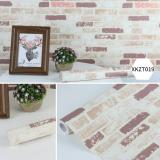 Jual Wallpaper Sticker Dinding Bata Coklat Vintage Rocket Original