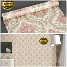 wallpaper sticker dinding batik bunga-bunga eleganIDR75000. Rp 75.000