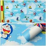 Jual Wallpaper Sticker Dinding Biru Doraemon Di Awan Dki Jakarta Murah