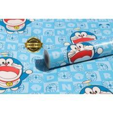 Diskon Produk Wallpaper Sticker Dinding Biru Karakter Doraemon