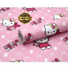 Spesifikasi Wallpaper Sticker Dinding Kamar Karakter Hello Kitty A J S Merk Universal