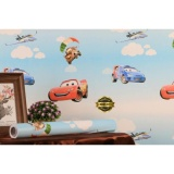 Diskon Produk Wallpaper Sticker Dinding Motif Kartun Cars