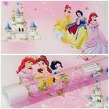 Iklan Wallpaper Sticker Dinding Pink Kartun Princess