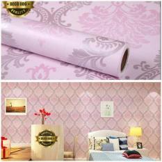 Wallpaper Sticker DindingAbu-abu Batik Silver Cantik Elegan Bagus Sekali 10 meterIDR75000. Rp 75.000