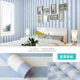 Beli Wallpaper Sticker Premium 10 Meter Garis Biru Bintang Seken