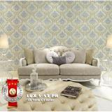 Beli Wallpaper Stiker Dinding Motif Batik Vintage Yang Bagus
