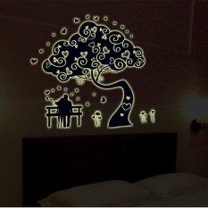 Ulasan Lengkap Tentang Wallsticker Sticker Dinding Glow In Dark Gid9610 Colourful