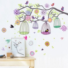Toko Wallsticker Stiker Dinding Ay993 60X90 Multicolor Lengkap