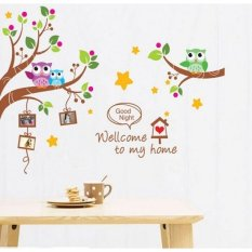 Review Wallsticker Stiker Dinding Xy1159 60X90 Multicolor