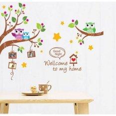 Beli Wallsticker Stiker Dinding Xy1159 60X90 Multicolor