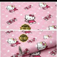 Dimana Beli Walpaper Sticker Dinding Hello Kitty Pink 45Cmx10M Universal