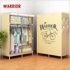 Wardrobe 02 Double Warrior Rak Baju Serbaguna Lemari Baju Serbaguna Double Indonesia