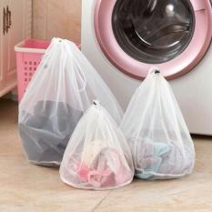 Mesin Cuci Digunakan Tas Jaring Mesh Tas Laundry Tebal Mencuci Tas 31*37 Cm-Intl