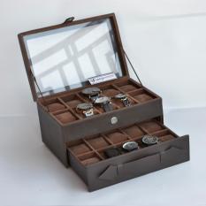 Watch Box Kotak Tempat Jam Tangan Jumbo Isi 20
