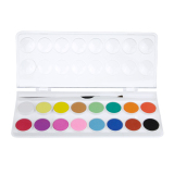 Beli Watercolour Paints Cake Set Of 16 Assorted Colors Kids Non Toxic Paint Sketch Set With Brush Intl Pake Kartu Kredit