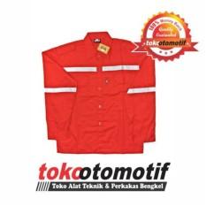 Wearpack Safety Atasan Merah / Wearpack Asgard / Baju Kerja