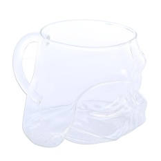 Weisizhong 420 Ml Praktis Kehidupan Beer Kaca Keren Besar Awet Jelas Transparan Kaca BEER MUG dengan Desain Unik dan Pegangan pegangan Aman Dicuci untuk Bachelor Pesta Rumah Tangga Minuman atau Hadiah-Internasional