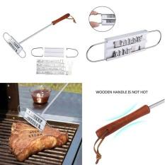 Weisizhong Steak Branding Iron, Daging BBQ Branding Besi dengan Huruf Berubah-ubah-Intl