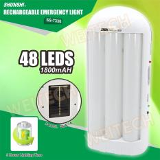 Beli Weitech 48 Led Solar Rechargeable Emergency Light Ss 7330 Seken