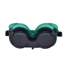 Welding Goggles With Flip Up Darken Cutting Grinding Safety Kacamata Hijau-Intl