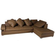 Wellington's Sofa L Cherry Mirage - Cokelat