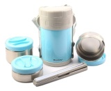 Jual Weston Easy Lunch Set Biru Import