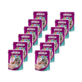 Promo Whiskas Pouch Junior Kitten Tuna 85Gr 12 Pcs Murah